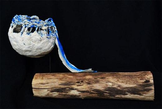 display of paper clay bowl