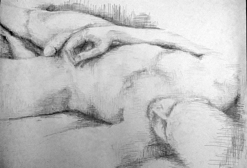 Using Lines In Drawing : Life drawing textiles 3 learning log
